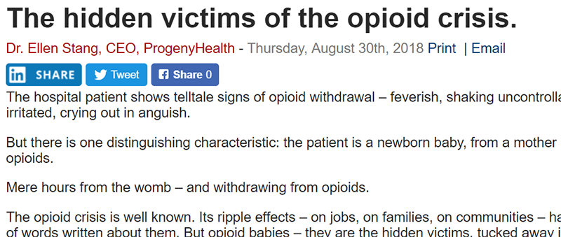 Hidden victims of the opioid crisis